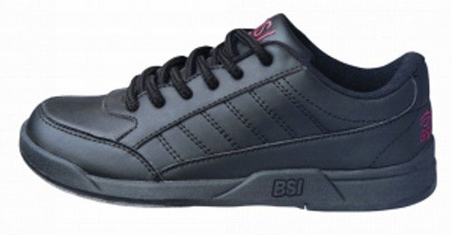 BSI Boy's Basic #533 Bowling Shoes, Size 3.0, Black