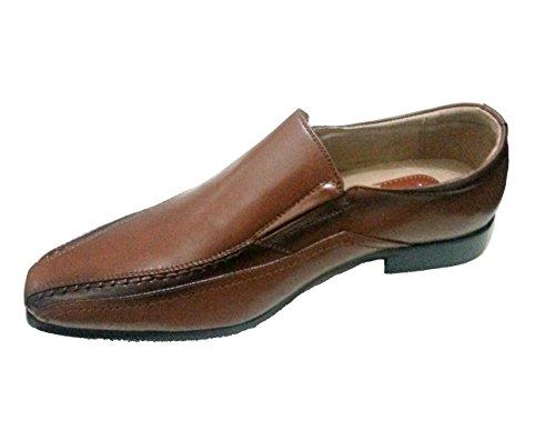 nbsp;12 Chaussures Marron Cuir Doublé Smart En Italien nbsp;7 6 nbsp;11 Pour nbsp;10 Homme Dessus nbsp;8 Pu Office nbsp;9 qTIYYv