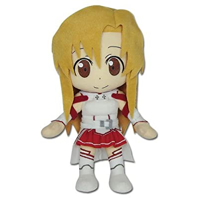 """Great Eastern S.A.O. Sword Art Online Asuna 9"""" Plush Doll: Toys & Games"""
