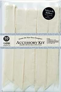 Amazoncom gartner studios wedding invitation accessory for Wedding invitation kits 50 count