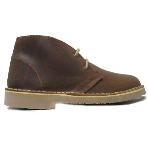 Marron Vieilli Cuir Desert Boots En Femme Roamer YRACqn4
