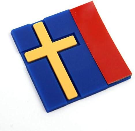 BLOUR F/ür Volvo Auto Schweden schwedische Flagge Tag Emblem Aufkleber Aufkleber personalisierte dekorative Auto Aufkleber Universal Auto