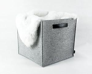 Lavievert Felt Storage Box, Lego Storage, Storage Basket, Kitchen Storage, Storage  Bin, Storage Box, Household Storage, Genuine Leather Handle
