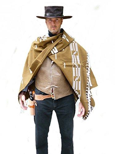 cae7e0462 StraightLine Clint Eastwood Style Spaghetti Western Cowboy Poncho ...