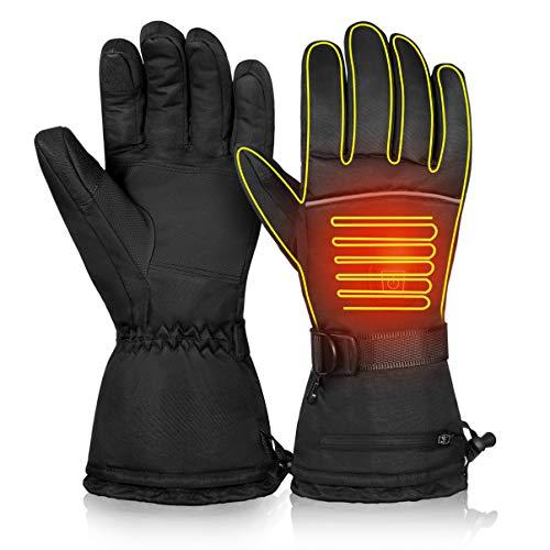 VICASKY Verwarmbare handschoenen, touchscreen, verwarmbaar, met 3 warmtestanden, voor vrouwen en mannen, elektrische…