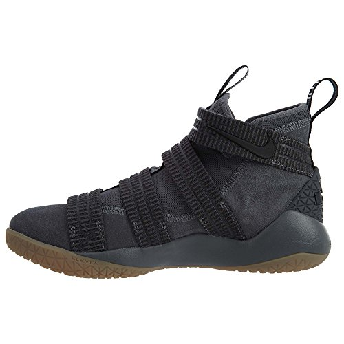 Dark Basketball Soldier circuit IX Black Lebron Shoe NIKE Men's Grey Orange Team n7Xw0Zx1xq