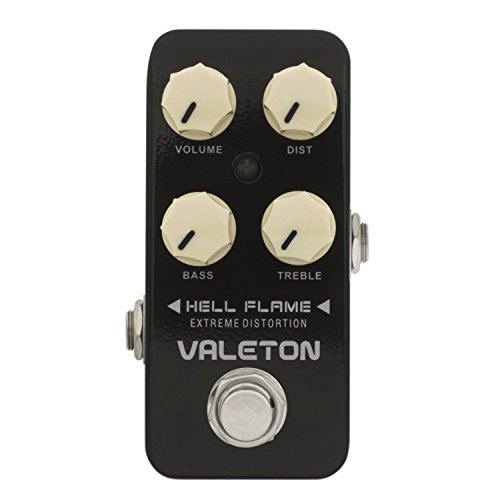 Valeton CDS-3 Hell Flame Metal Distortion Guitar Effect Pedal by Valeton