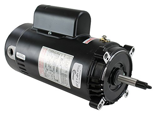Spa Replacement Emerson Motor - Century Electric UST1202 2-Horsepower Up-Rated Round Flange Replacement Motor (Formerly A.O. Smith)