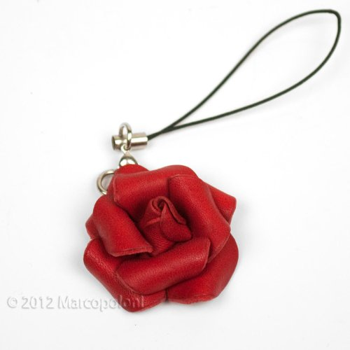 rosa-hand-molded-leather-rose-cell-phone-charm-with-dust-plug-attachment-red