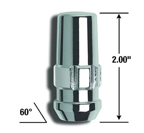 Gorilla Automotive 76885 Duplex Acorn Wheel Installation Kit 1//2 Thread Size For 8 Lug Wheels