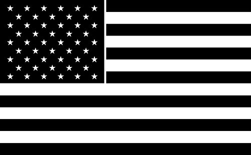 American Flat Glass (USA American Flag Patriotic Auto Car All Weather 4 Seasons Hood Window Decal Vinyl Bumper Sticker Mural Stars Stripes Police Firefighter Breast Cancer 6