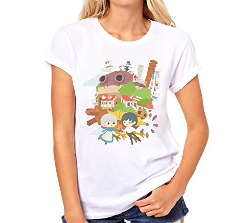 Inksterinc Clearance Howl's Moving Castle T-Shirt, Howls Moving Castle Shirt, Studio Ghibli