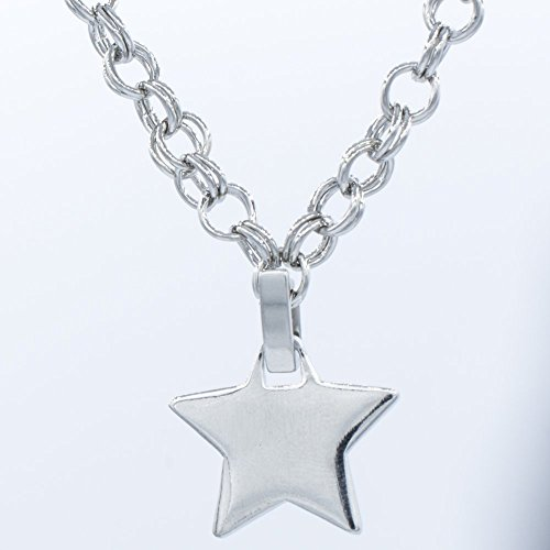 Star Charm Necklace, 18 or 24 inches Chain Pendant Necklaces