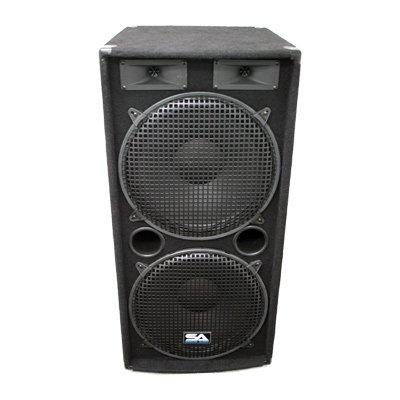 Seismic Audio - Pair of Dual 15'' PA DJ SPEAKERS 1000 Watts PRO AUDIO - Band, Bar, Wedding, Church by Seismic Audio (Image #7)