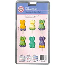 Wilton 2115-3803 Bunnies Lollipop Mold on a Stick