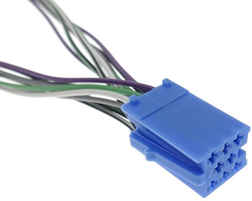 vDO becker Mini iSO 8 broches vers r/épartiteur bleu 2 x femelle cD r/épartiteur blaupunkt