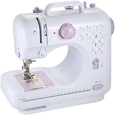 Máquina de coser Mini LED Electrónico 12 puntos de sutura Comer ...