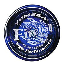 Yomega Fireball Yo-Yo Collector's Edition - Red and Blue