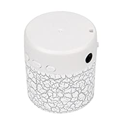 Rambly Portable Mini Stereo Bass Speakers Music Player Wireless TF Speaker (White)