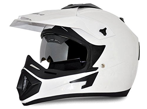 Vega Off Road White Helmet