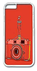 ACESR Flash Photography Hipster iPhone Case PC Hard Case Back Cover for Apple iPhone 6 4.7inch