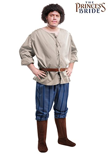Princess Bride Halloween The Costumes (Plus Size Princess Bride Fezzik Costume)