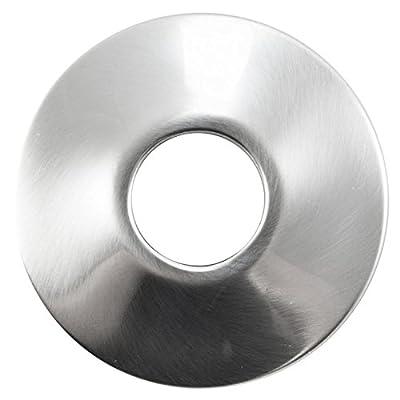 Luxart Lx340-bn 1/2 Ips Brushed Nickel Shallow Pattern Escutcheon