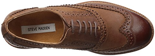 Steve Madden Mens Daxx Oxford Tan