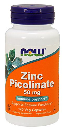 NOW Zinc Picolinate,120 Veg Capsules