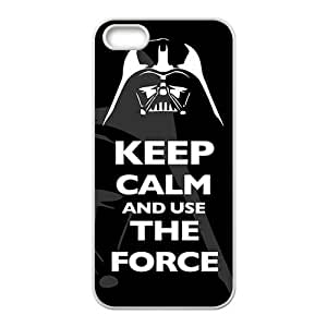 keep calm and use the force Phone Case for iPhone 5S Case