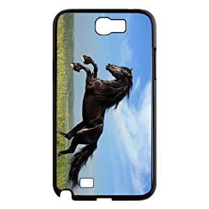 case Of Horse Customized Bumper Plastic Hard Case For Samsung Galaxy Note 2 N7100