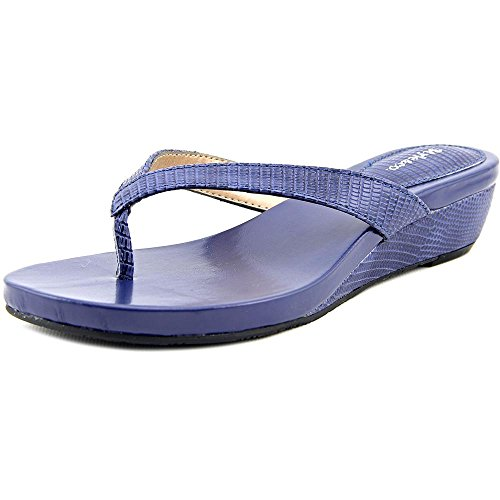 Style & 6ZRX9e73HI Womens Haloe Split Toe Thong Wedge Pumps Blue Depth