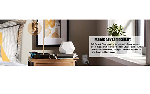 C by GE Smart Bundle Pack with 4 Smart Bulbs and Smart Plug (4 LED A19 Tunable White Bulbs + On/Off Smart Plug), Works with Alexa and Google Assistant, WiFi Enabled