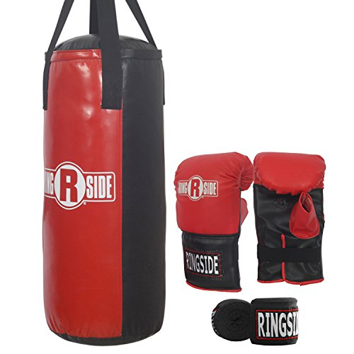 Ringside 40 lb Boxing Heavy Punching Bag Kit Bag Boxing Punch