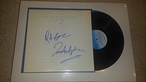(IAN ANDERSON / MARTIN BARRE Jethro Tull signed