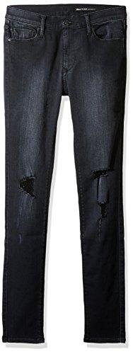 Black Orchid Women's Noah Mid Rise Super Skinny Jean, Black Rock, 32