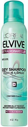Dry Shampoo: L'Oréal Paris Elvive Extraordinary Clay Dry Shampoo