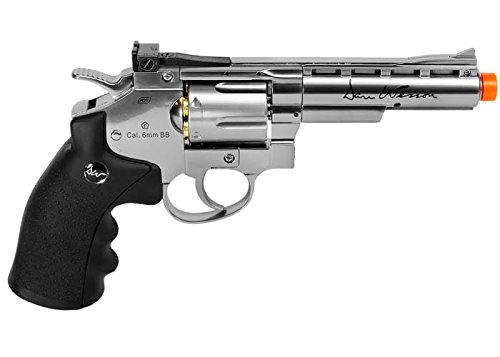 Licensed Asg Dan Wesson 4 Gas Airsoft Pistol Full Metal