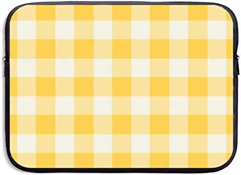 Amazon Com Qzjdyh Funhouse Gingham In Lemon Yellow Wallpaper