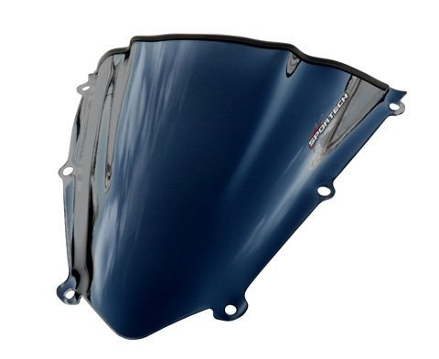 Sportech V-Flow Chrome Series Windscreen for 2007-2008 Yamaha (Sportech V-flow Chrome Windscreen)