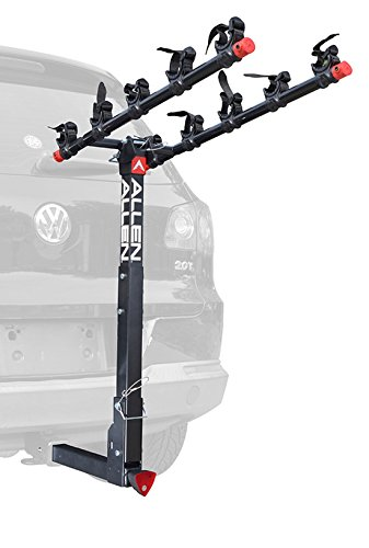 Allen Sports Deluxe Locking Quick Release 5-Bike Carrier for 2 in. Hitch – DiZiSports Store