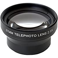 Zoom Lens 2X from Phone Paal. 37mm. Superior glass for phone or camera.