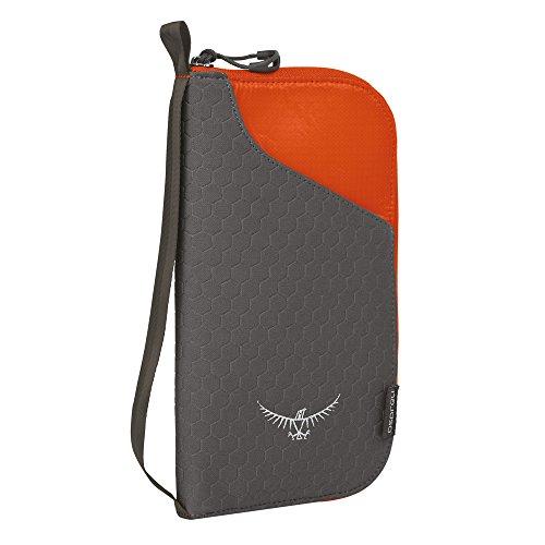 Osprey Packs Document Zip, Poppy Orange, One Size