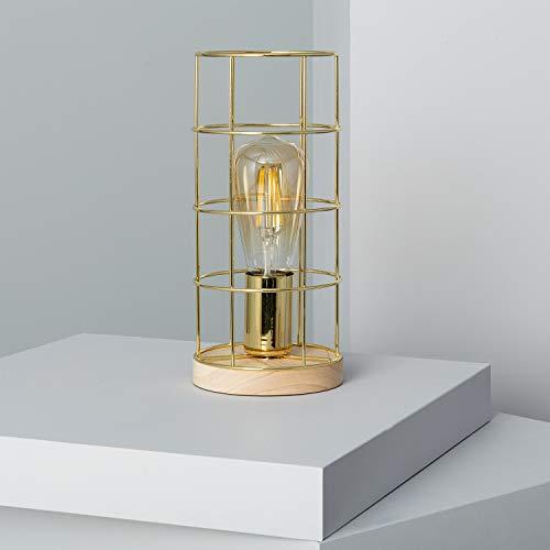 LEDKIA LIGHTING Tafellamp Kavez Goud
