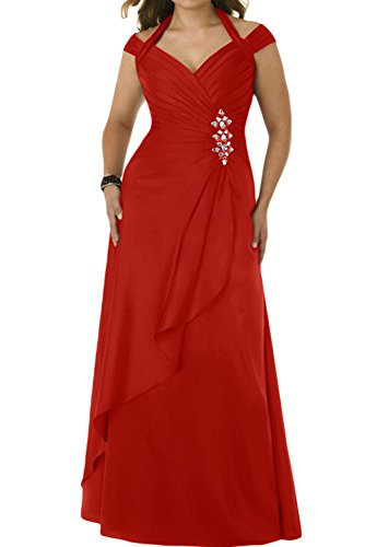 Ivydressing -  Vestito  - linea ad a - Donna Rot 40
