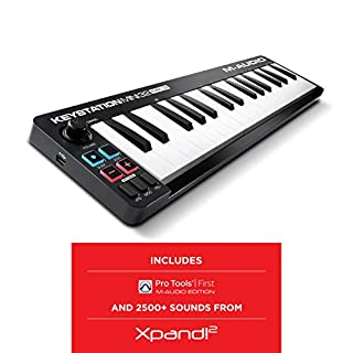 M-Audio Keystation Mini 32 MK3 | Ultra-Portable Mini USB MIDI Keyboard Controller With ProTools First | M-Audio Edition and Xpand!2 by AIR Music Tech (B07GBNNF23) | Amazon price tracker / tracking, Amazon price history charts, Amazon price watches, Amazon price drop alerts