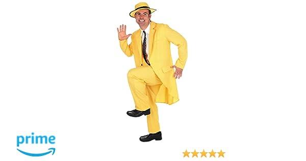 Fun Shack Amarillo Traje Amarillo Disfraz para Hombres: Amazon.es ...