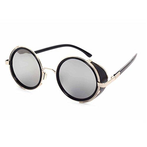 Aoligei Europe et Amérique Rock rétro Cassou lunettes steampunk ossature métallique Lunettes de soleil lunettes de soleil bts1NLaX6