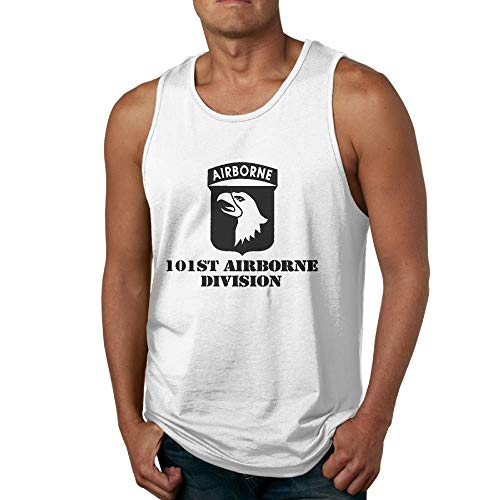- Wwnebr Bbxi Mens Tank Top Us Army 101st Airborne Bodybuilding Tank Top