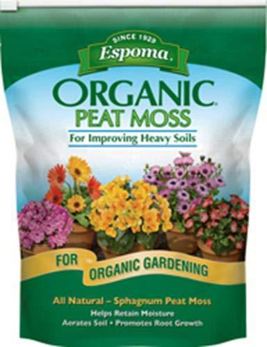 Potting Soil Peat Moss - Espoma PTM8 8-Quart Organic Peat Moss